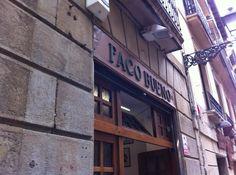 Paco Bueno San Sebastian Spain | Bar Paco Bueno Photo: 外観