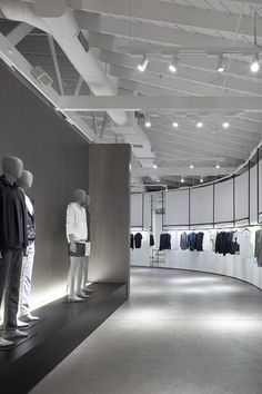The facade of Theory North Beverly in Beverly Hills, CA designed by Nendo, photo: Daici Ano. Tokyo-based Nendo has designed several shop interiors for Retail Interior Design, Retail Store Design, Retail Shop, Interior Ideas, Terrazo, Saloon, Store Interiors, Design Blogs, Design Ideas