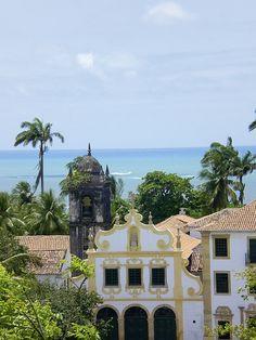 The UNESCO city of Olinda, Brazilian Baroque Cities, Pernambuco, Brazil