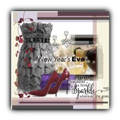 """""""new years eve"""" by elle666emm ❤ liked on Polyvore featuring Mews London, Lipsy, LARA, Nina and Casadei"""