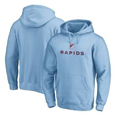 Colorado Rapids Fanatics Branded Shielded Pullover Hoodie - Light Blue