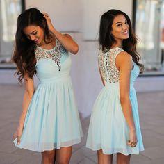 WELL, HELLO CUTE DRESS! Looking for the perfect fun little spring dress? Look no further! Introducing your new Mint Crochet Short Dress! The gorgeous crochet detail and amazing color is perfect for summer or even as a bridesmaid dress!  See this dress in other colors at our trendy dress boutique!