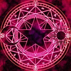Sakura Kinomoto's Magic Circle by ~Earthstar01 on deviantART