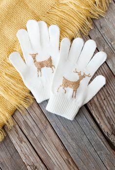 Deer Gloves. Make It Now in Cricut Design Space