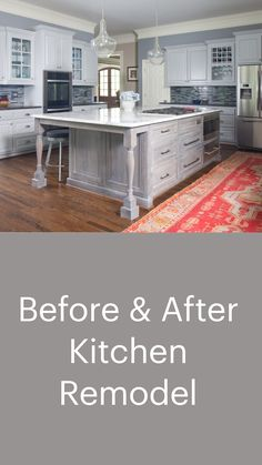 Kitchen Cabinet Styles, Diy Kitchen Cabinets, Kitchen Paint, Kitchen Redo, New Kitchen, Dark Cabinets, Diy Kitchen Ideas, Diy Kitchen Makeover, Kitchens With White Cabinets