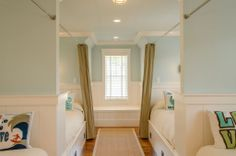 nice way to do a bunk room in a lake home ~ Private Residence 74 | Portfolio - Wayne Windham Architect
