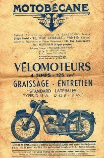 My Classic Motorcycle: 1945 Motobecane D45