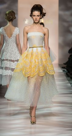 Georges Chakra Couture - Spring Summer 2015
