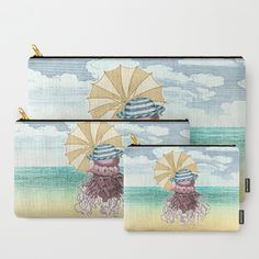 Summer Promenade Carry-All Pouch