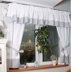 19 Creative Kitchen Lighting Ideas to Transform the Hearth of Your Home - The Trending House Cream Curtains, Home Curtains, Modern Curtains, Hanging Curtains, Kitchen Curtains, Valance Curtains, Farmhouse Kitchen Decor, Home Decor Kitchen, Cortinas Country