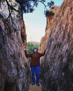 Hiking near the Red Mountain Resort, St. George, Utah