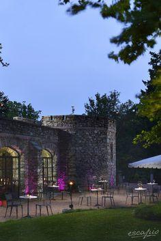 Piemont: Castello Dal Pozzo.  Oleggio Castello, Italien