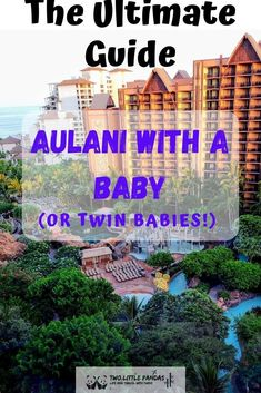 Is it worth visiting Aulani with a baby? Read everything great, and everything not so great before you book your trip! Disney Hawaii Aulani, Hawaii Resorts, Hawaii Vacation, Hawaii Travel, Travel Usa, Travel Tips, Turtle Beach, Pearl Harbor, Oahu