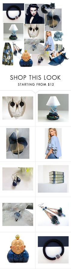 """Beautiful in All Ways"" by anna-recycle ❤ liked on Polyvore featuring Lazuli, X+Q, modern, rustic and vintage"