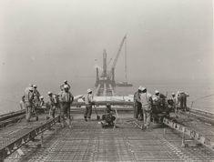 The construction of the Chesapeake Bay Bridge-Tunnel