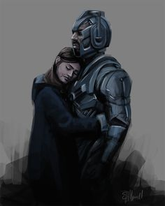 Clara and Danny - The Most Heartbreaking Painting I've Ever Made bethmorrell.tumblr.com