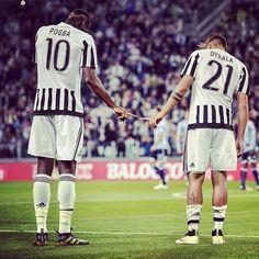 Paul Pogba & Paulo Dybala