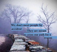Find the gift, the blessing and/or the lesson in everyone you meet. Know there is a reason for the meeting. ♥ Free2Luv