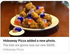 Not even pizza places are above bad memes. Bad Memes, Dankest Memes, Funny Memes, Hilarious, Tide Pods, Forbidden Fruit, Drown, Cursed Images, Demons