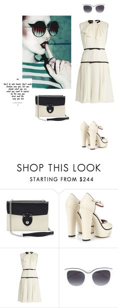 """Graduation Day"" by zabead ❤ liked on Polyvore featuring Bertoni, Valentino, Giambattista Valli and N°21"