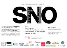 Join us at the #SNO Event! The #Phoebycerise team will be there