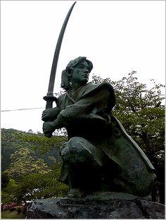"""Sasaki Kojiro 34°10'10.5""""N 132°10'40.7""""E"""