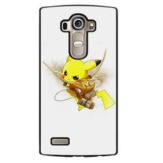 Pokemon Pikachu Attack Ontitan Shingeki No Kyojin Phonecase Cover Case For LG G3 LG G4