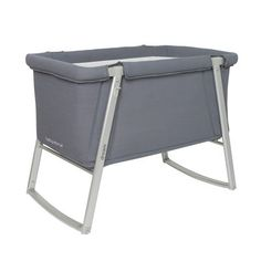 , Mom and Dad will love the ease and convenience of this portable bassinet. Its lightweight build and optional wheels make it a breeze to mo...