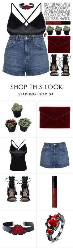 """""""what a lovely day it is to remember that you are beautiful, caring, and deserving of love"""" by exco ❤ liked on Polyvore featuring Rebecca Minkoff, Topshop, Zimmermann, Lord & Berry, clean, organized and rosegal"""