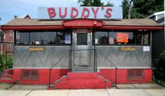 Buddy's Diner (c.1929), Somerville, Mass. (Worcester Lunch Car Co.)