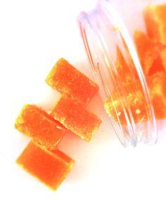 Pumpkin Pie Sugar Scrub Cubes  8 oz. Jar by SymbolicImports, $11.00