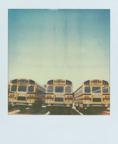 i have a thing for school buses