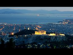 Parthenon still king of the hill, amidst modern Athens.—A.T.