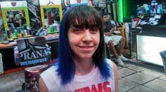 puntas en diagonal azules !