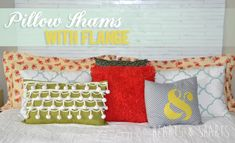 Sewing Pillow Shams