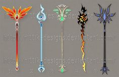 Staff designs 29 by Rittik-Designs on deviantART