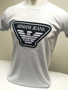 Armani Jeans T-Shirt - 4 Colours - 5 Sizes- RRP: £89.99 - Limited Time Offer! | eBay