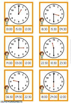 Math Coloring Worksheets, 3rd Grade Math Worksheets, School Worksheets, 2nd Grade Math, Second Grade, English Worksheets For Kids, Math School, Reading Comprehension Worksheets, Teaching Time
