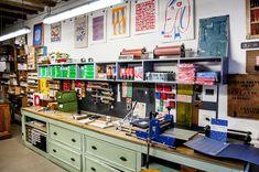 Vostok Printing Shop. Barcelona