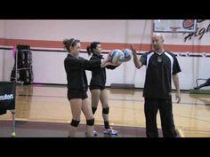 #1 Service volleyball - traduisez les instructions de l'entraineur.
