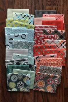 Bryan House Quilts: Fabric Stash: Florence by Denyse Schmidt