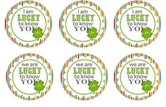 St. Patty's day tags