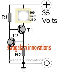 Make a 100 Watt LED Floodlight Constant Current Driver Circuit