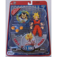 One of the dragonball-z action figures, this is S. Golu Features : Dragonball Z S. Goku Cell Saga Figure Product dimensions : L : X W : Dbz Action Figures, Anime Figures, Dragon Ball Image, Dragon Ball Z, Saga, Dbz Toys, Theme Anime, Son Goku, Geek Gifts