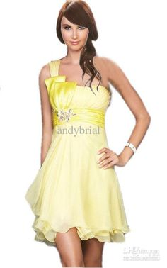 Wholesale Hot Cheap Selling One-shoulder Chic Prom Dress Short Homecoming Dresses Mini Graduation Gowns YSH, $71.94-84.96/Piece | DHgate A Line Prom Dresses, Grad Dresses, Homecoming Dresses, Short Sleeve Dresses, Sexy Evening Dress, Cheap Evening Dresses, Graduation Gowns, Formal Gowns, Chic