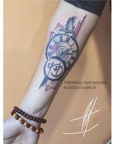 Tattoo by-riyongautam 4utattoostudio.in