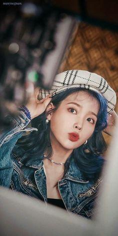 IU Blueming MV Behind Wallpapers & LockScreen People prefer different filters. Iu Short Hair, Iu Hair, Short Hair Styles, Korean Actresses, Korean Actors, Iu Twitter, Bobby Brown Stranger Things, Girl Artist, Iu Fashion
