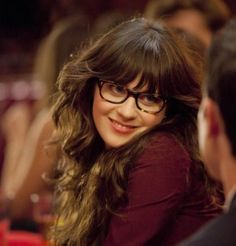 536c15b8e9 Zooey Deschanel (as Jess) wears a pair of Oliver Peoples Wacks eyeglasses  in the tv series New Girl. Wow Vintage Sunglasses · WayFarer   Clubmaster  Readers