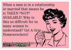 This one is for Deanna,Valerie Klink,Leanna Rose,and any other whore who thinks it's ok to sleep with a married man or a guy that has a girlfriend!!!!!!!