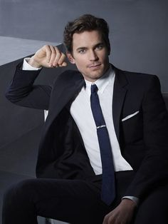 Matt Bomer -- just your friendly neighborhood con artist